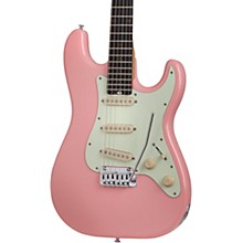 Nick Johnston Traditional Electric Guitar Atomic Coral Mint Green Pickguard