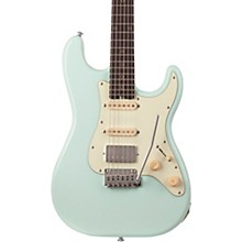 Nick Johnston Traditional HSS Electric Guitar Atomic Frost Mint Green Pickguard