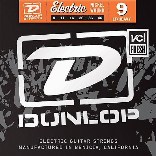 Dunlop Nickel Plated Steel Electric Guitar Strings - Light Top Heavy Bottom 9's