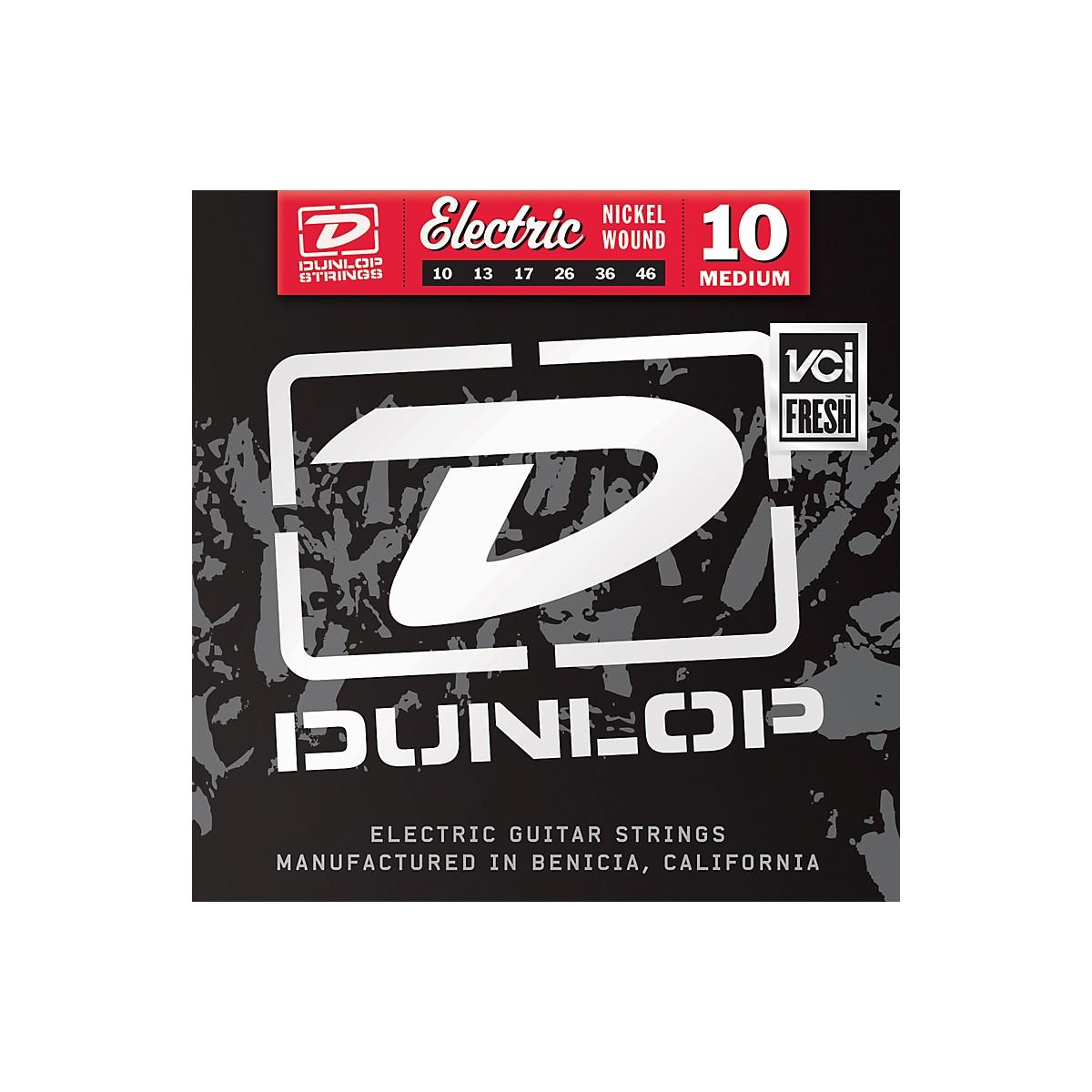 Dunlop Nickel Plated Steel Electric Guitar Strings - Medium