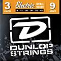 Dunlop Nickel Plated Steel Electric Guitar Strings Light 3-Pack thumbnail