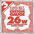 Ernie Ball Nickel Wound Single Guitar Strings 3-Pack thumbnail