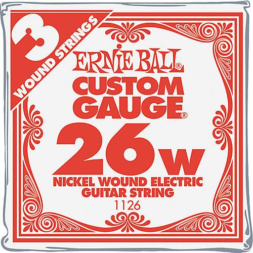 Ernie Ball Nickel Wound Single Guitar Strings 3-Pack