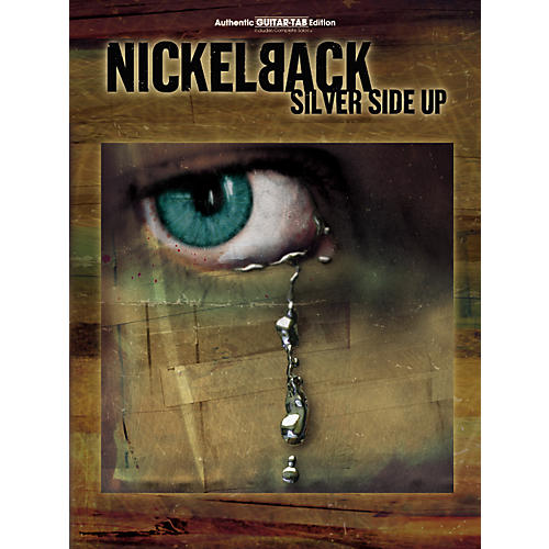Alfred Nickelback Silver Side Up Guitar Tab Book