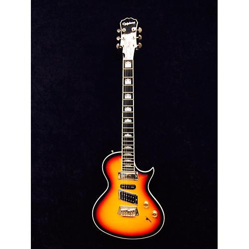 Epiphone Nighthawk Custom Reissue Tobacco Sunburst Solid Body Electric Guitar