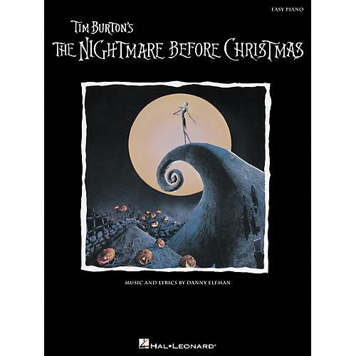 Hal Leonard Nightmare Before Christmas For Easy Piano