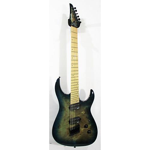 used legator ninja 200 r solid body electric guitar ocean blue burst guitar center. Black Bedroom Furniture Sets. Home Design Ideas