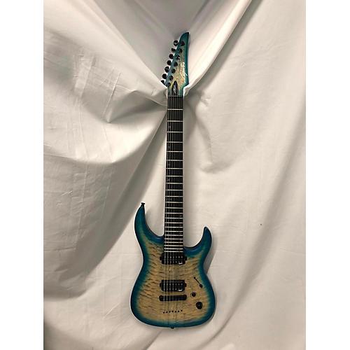 used legator ninja performance 7 solid body electric guitar blue agave guitar center. Black Bedroom Furniture Sets. Home Design Ideas