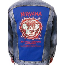 Dragonfly Clothing Nirvana - Oakland Coliseum Embryo - Womens Denim Jacket