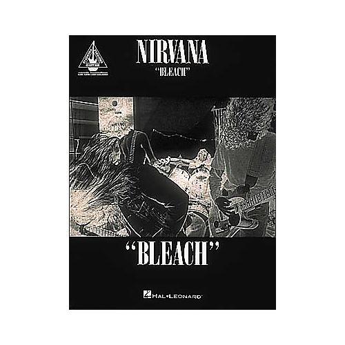 Hal Leonard Nirvana Bleach Guitar Tab Songbook