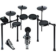 Nitro 8-Piece Electronic Drum Kit with Rubber Pads