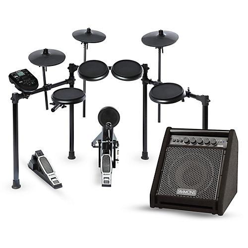 Alesis Nitro Electronic Drum Kit and Simmons DA50 Monitor