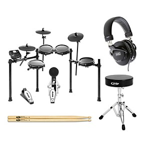 alesis nitro mesh electronic drum set starter kit guitar center. Black Bedroom Furniture Sets. Home Design Ideas