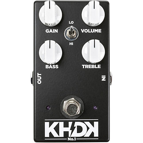 KHDK No.1 Overdrive Effects Pedal