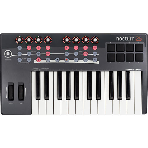 Novation Nocturn 25 MIDI Controller Keyboard