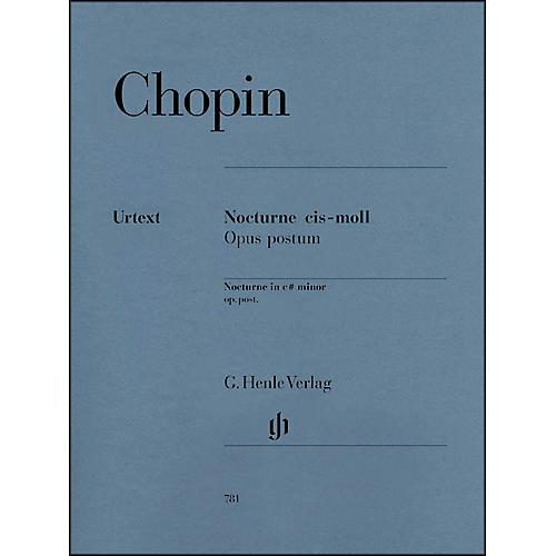G. Henle Verlag Nocturne in C Sharp minor Op. Posth. By Chopin