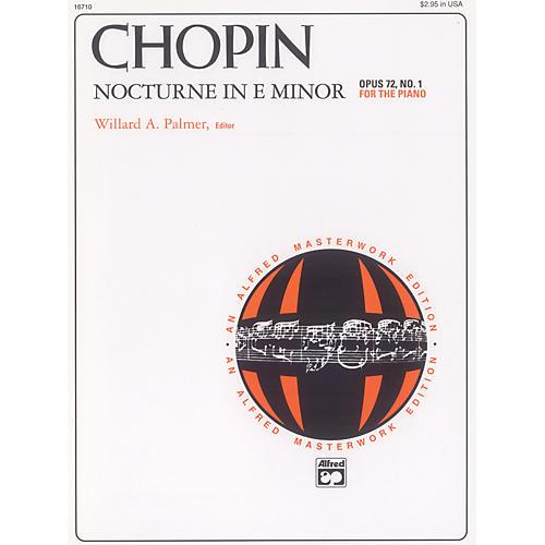 Alfred Nocturne in E minor Op. 72 No. 1