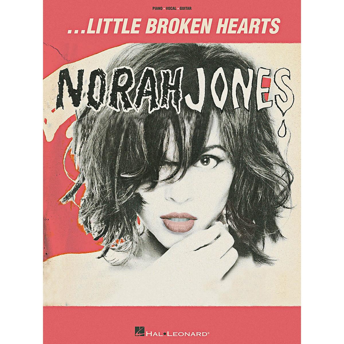 Hal Leonard Norah Jones Little Broken Hearts Piano/Vocal/Guitar Songbook
