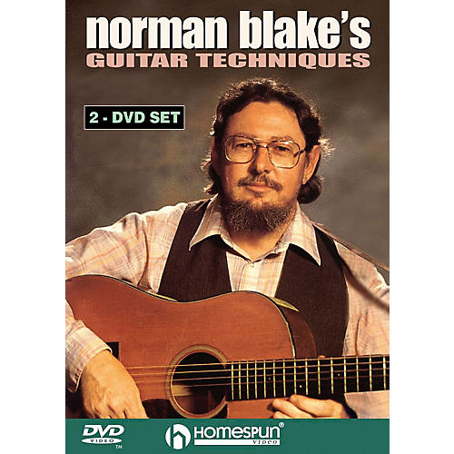 Homespun Norman Blake's Guitar Techniques (2-DVD Set) Instructional/Guitar/DVD Series DVD