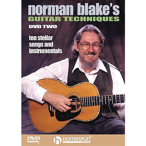 Homespun Norman Blake's Guitar Techniques 2 (DVD)