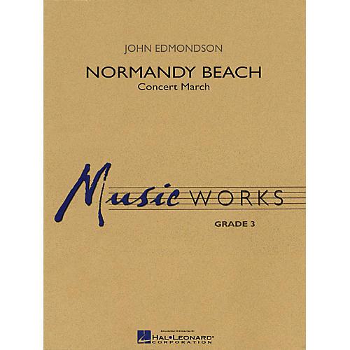 Hal Leonard Normandy Beach Concert Band Level 3 Composed by John Edmondson