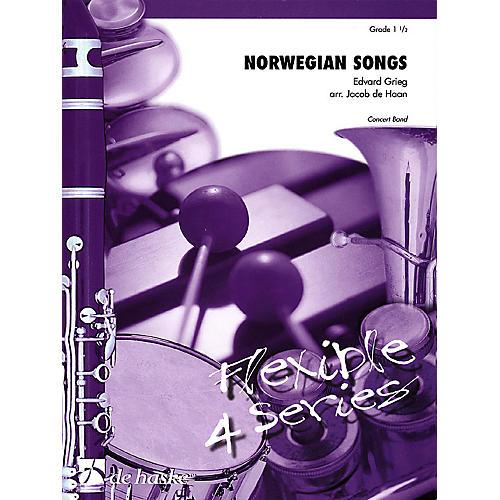 De Haske Music Norwegian Songs Concert Band Level 1.5 Arranged by Jacob de Haan