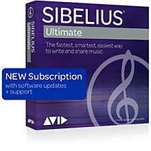 Sibelius Notation Software 1-Year Subscription