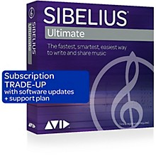 Sibelius Notation Software with Support (Crossgrade)