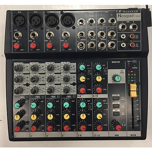 Soundcraft Notepad 124 Powered Mixer