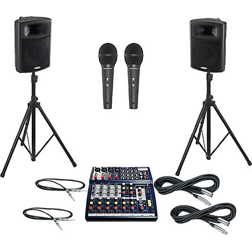 Soundcraft Notepad 124FX / APS15 PA Package