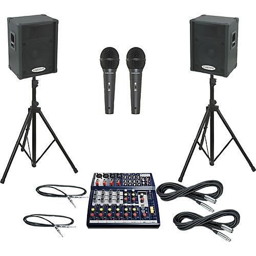 Soundcraft Notepad 124FX / KPC15P PA Package