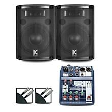 Notepad-5 Mixer and Kustom HiPAC Speakers 10
