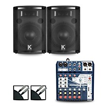 Notepad8FX Mixer and Kustom HiPAC Speakers 10