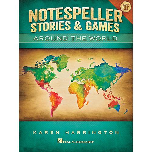 Hal Leonard Notespeller Stories & Games - Book 1 Piano Library Series Book by Karen Harrington (Level Elem)