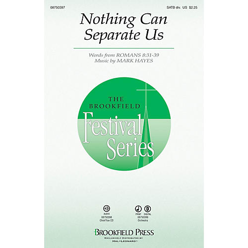 Brookfield Nothing Can Separate Us CHOIRTRAX CD Composed by Mark Hayes