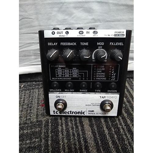 TC Electronic Nova Repeater Effect Pedal