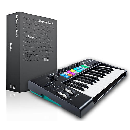 novation novation launchkey 25 midi controller with ableton live 9 5 suite guitar center. Black Bedroom Furniture Sets. Home Design Ideas