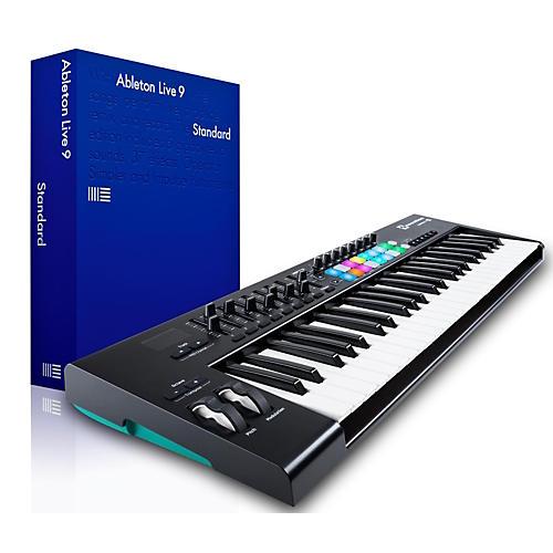 Novation Novation Launchkey 49 MIDI Controller with Ableton Live 9.5 Standard