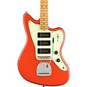 Noventa Jazzmaster Maple Fingerboard Electric Guitar Fiesta Red
