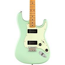 Noventa Stratocaster Maple Fingerboard Electric Guitar Surf Green