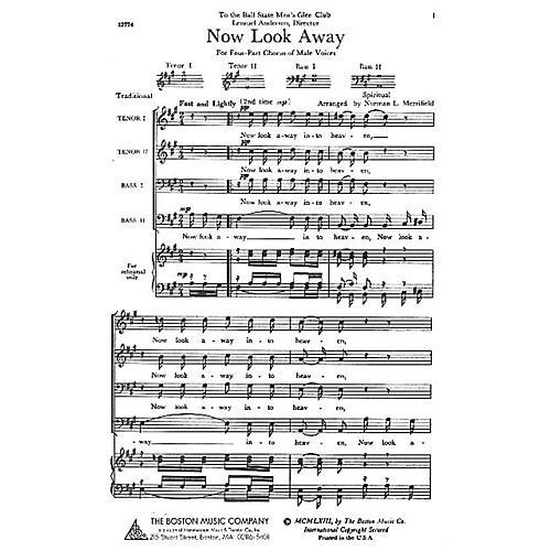 Boston Music Now Look Away TTBB Arranged by Norman L. Merrifield