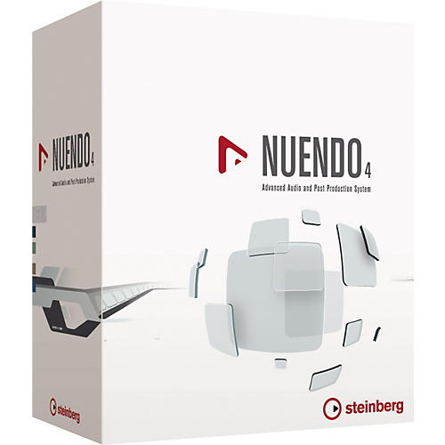 Steinberg Nuendo 4 Advanced Audio and Post Production System Educational Edition