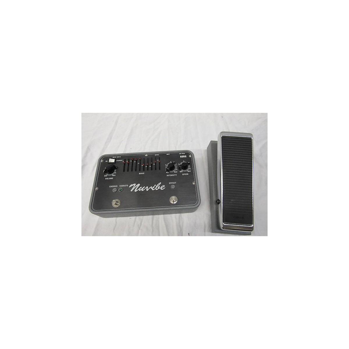 Korg Nuvibe Vibrato Chorus Effector Effect Pedal