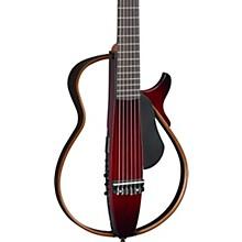 Nylon String Silent Guitar Dark Red Burst