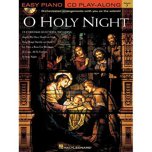 Hal Leonard O Holy Night - Easy Piano CD Play-Along Volume 7 Book/CD
