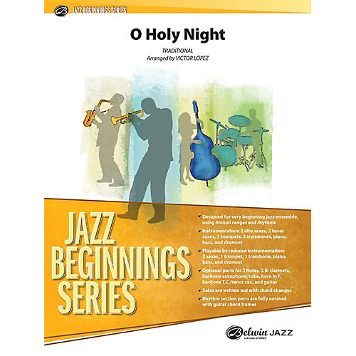 Alfred O Holy Night Jazz Band Grade 1 Set