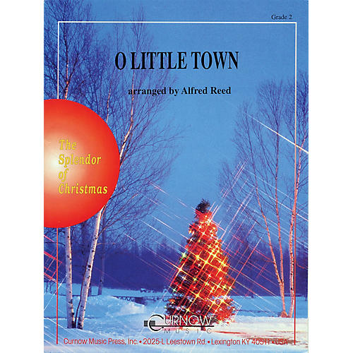 Curnow Music O Little Town (Grade 2 - Score and Parts) Concert Band Level 2 Arranged by Alfred Reed