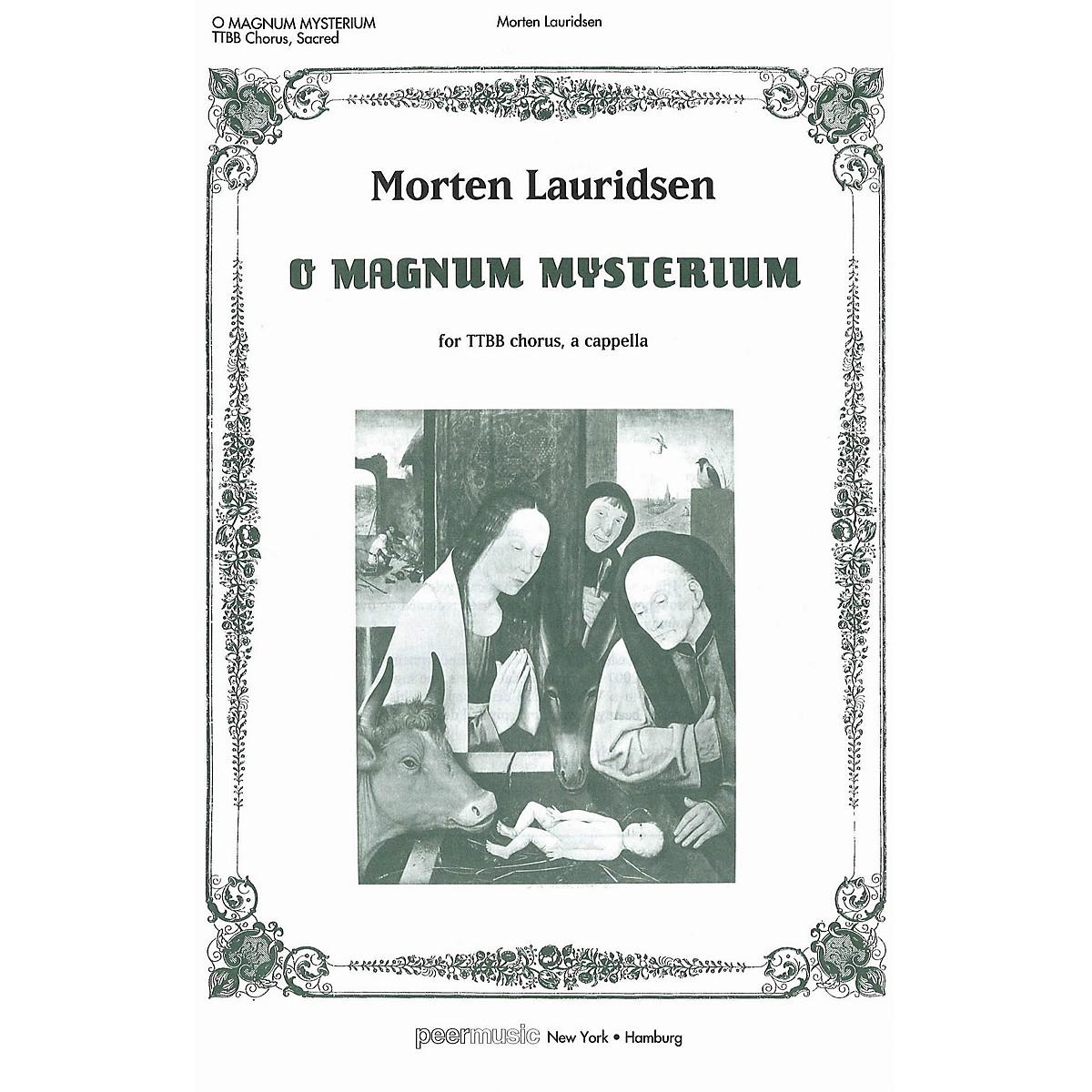 Peer Music O Magnum Mysterium TTBB Composed by Morten Lauridsen