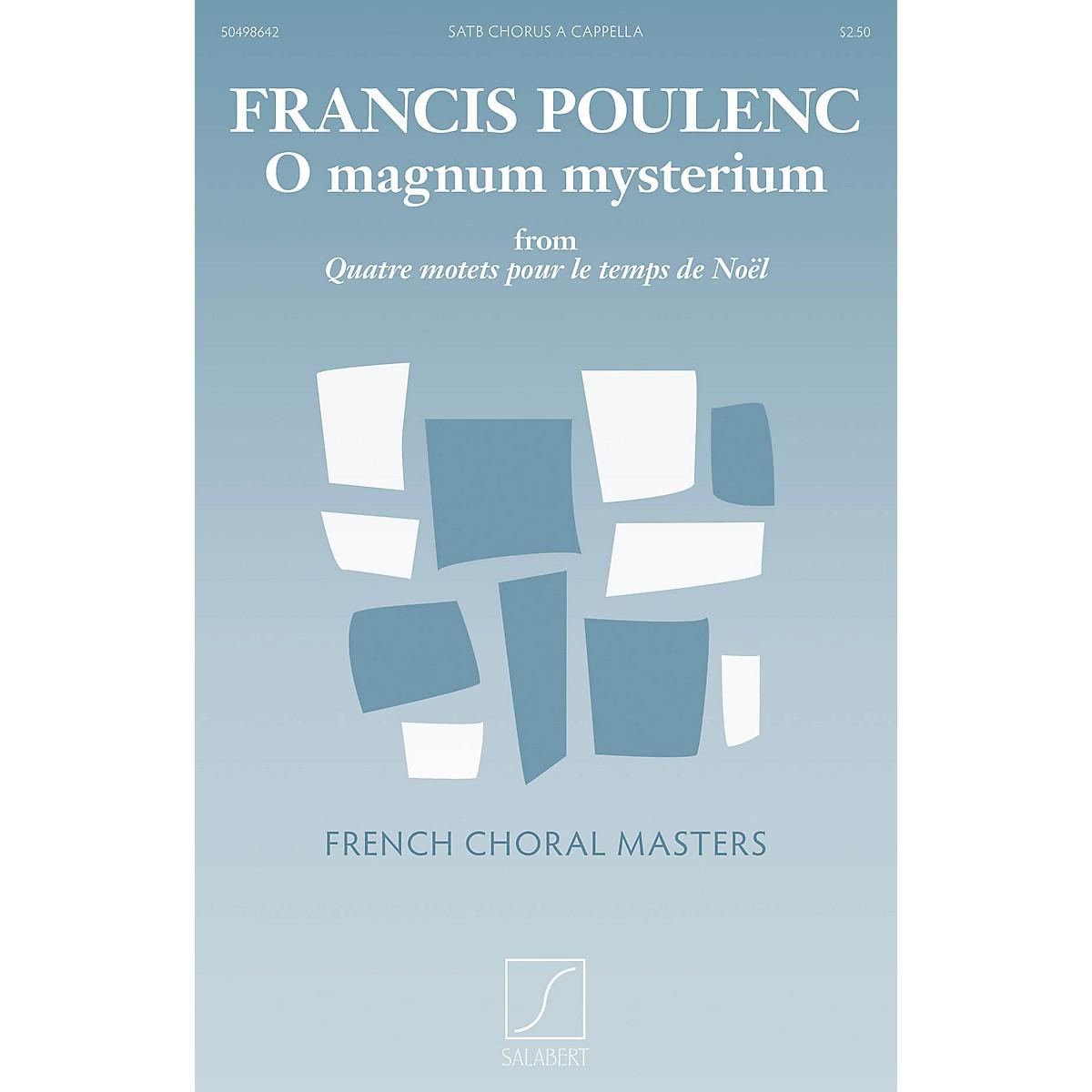 Salabert O Magnum Mysterium (from Quatre motets pour le temps de Noël) Composed by Francis Poulenc