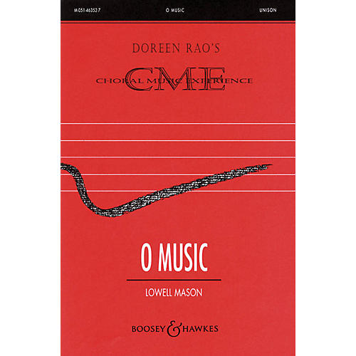 Boosey and Hawkes O Music (CME Beginning) SSA composed by Lowell Mason arranged by Doreen Rao